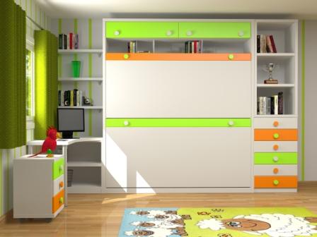 Muebles juveniles dormitorios infantiles y habitaciones - Literas abatibles baratas ...