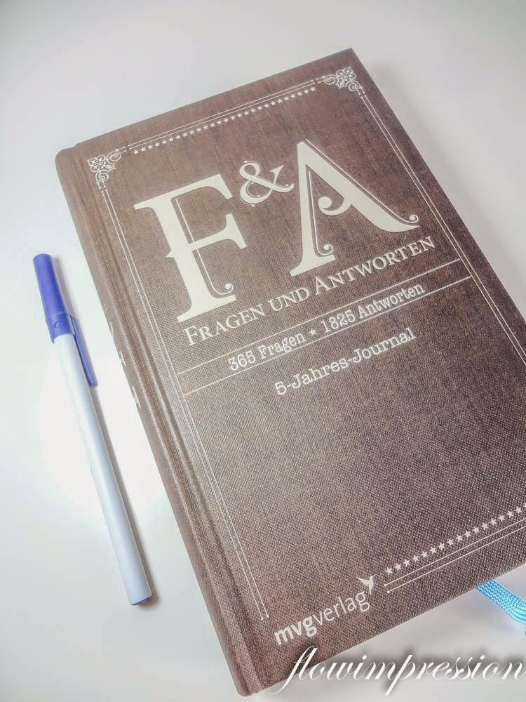 Das F & A, 5-Jahres-Journal mit 365 Fragen