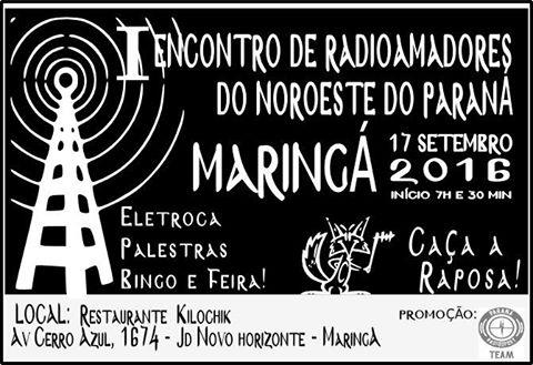 1º ENCONTRO DE RADIOAMADORES DO NOROESTE DO PARANA