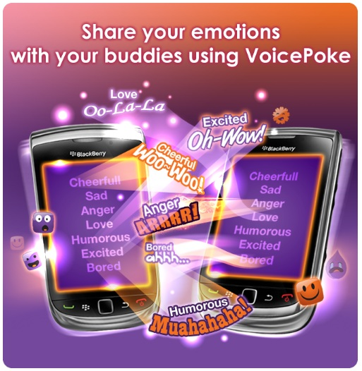 Send Fun Talk messages, Fun Talk Dedications and Voice Pokes to show your love!