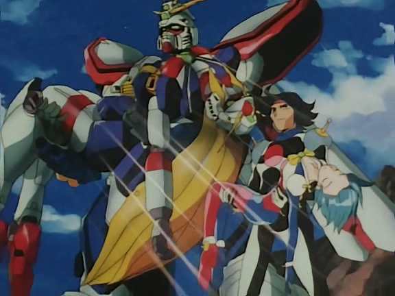 Dubsub anime reviews mobile fighter g gundam anime review for Domon man 2013