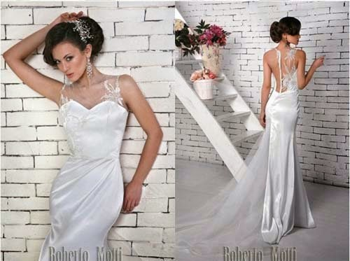2014 wedding dress collection by Roberto Motti