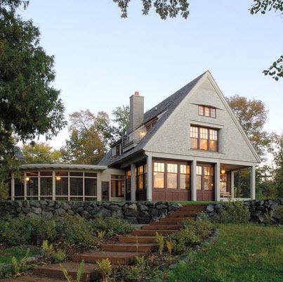 Fachadas de casas r sticas dise os y materiales for Materiales para tejados de casas