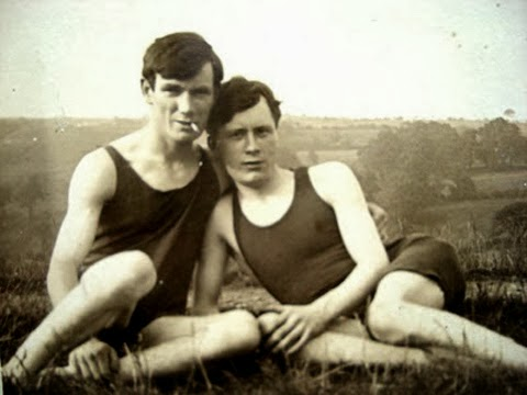 GAY HISTORY | Antique pics of gay couples ...