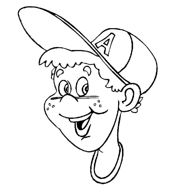 Source Handsome Boy Coloring Pages