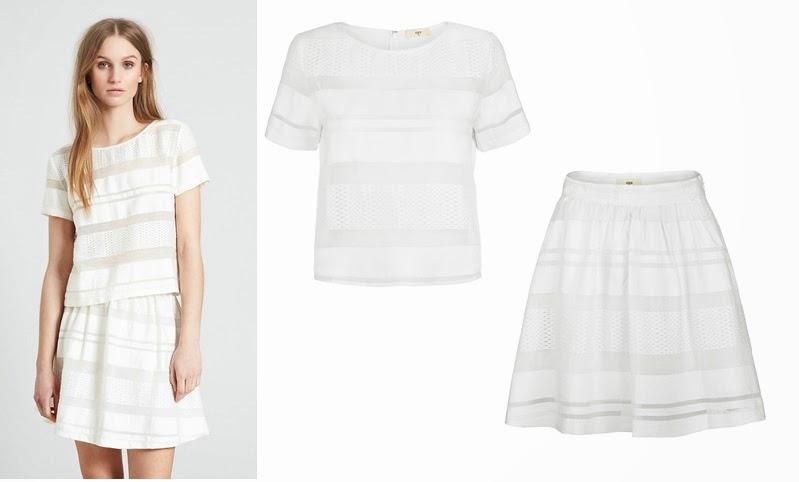 envii kjole hvid