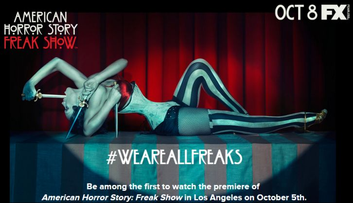 American Horror Story - Season 4 - Chance to win viewing of the Premiere in Los Angeles