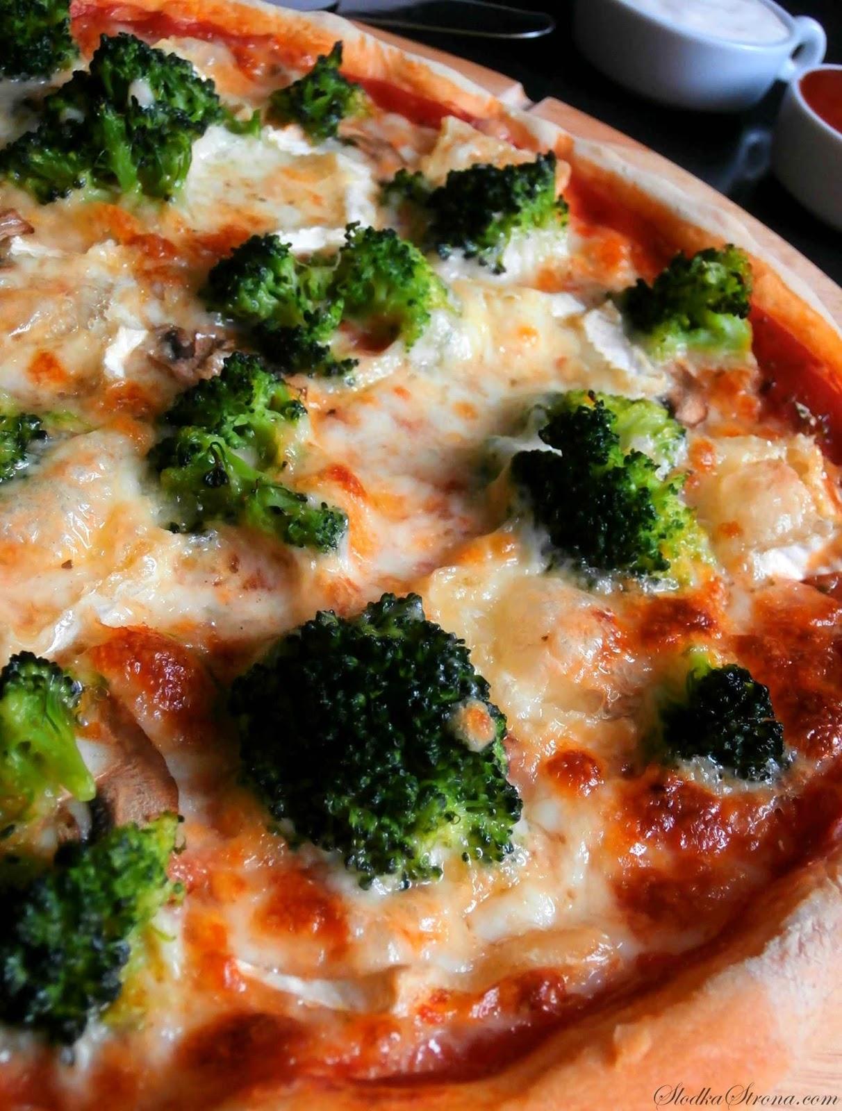 Domowa Pizza z Brokułami - Przepis - Słodka Strona