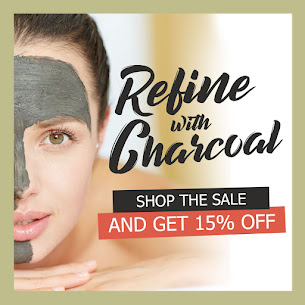 Save 15% on Activated Charcoal for Hair & Skin Care