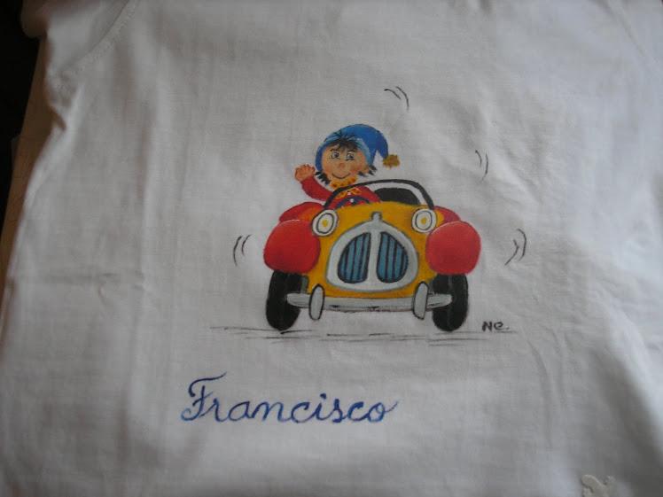 T-shirt pintada