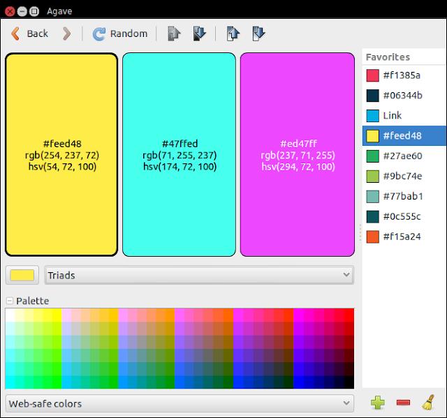 Agave ColorScheme Designer