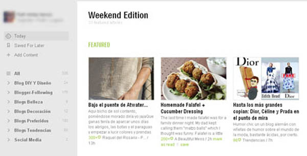 feedly rss blogs