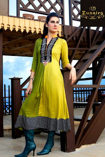 Zunaira Lounge Summer Collection 2013 for Women