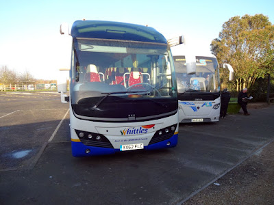 Our Whittles Coach at Oxford Services