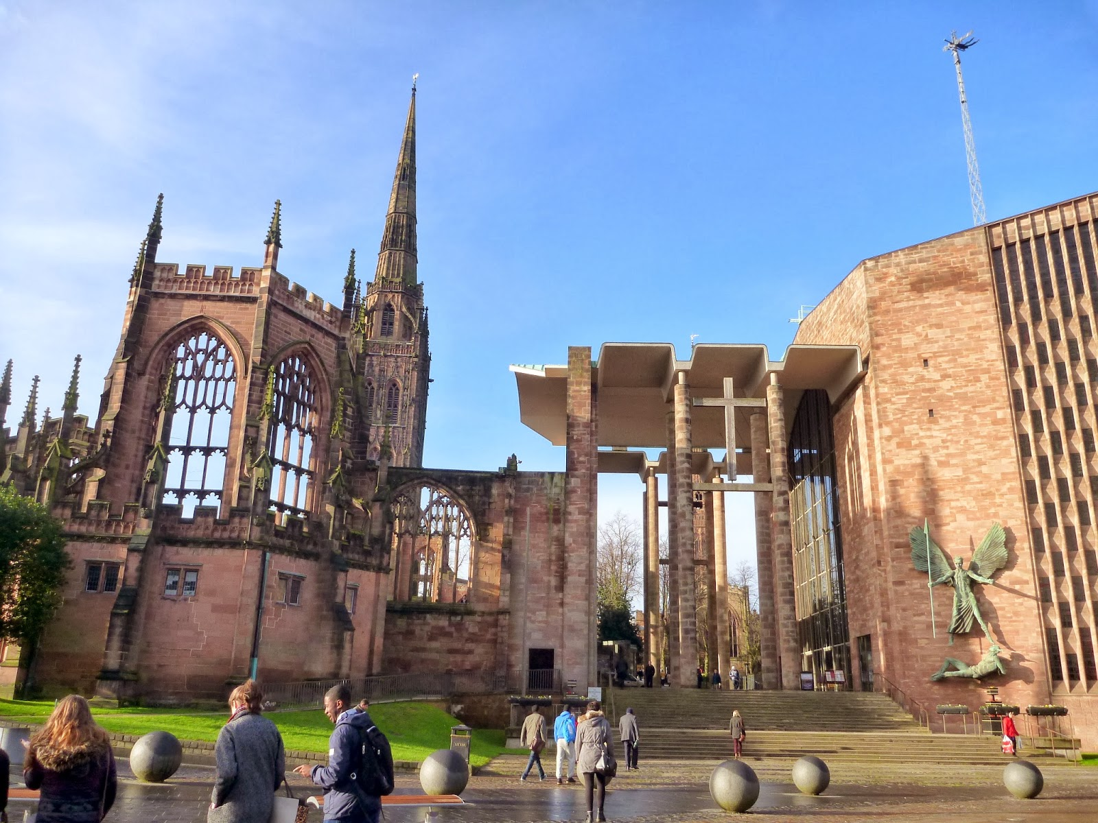 A place called space coventry cathedral for The coventry
