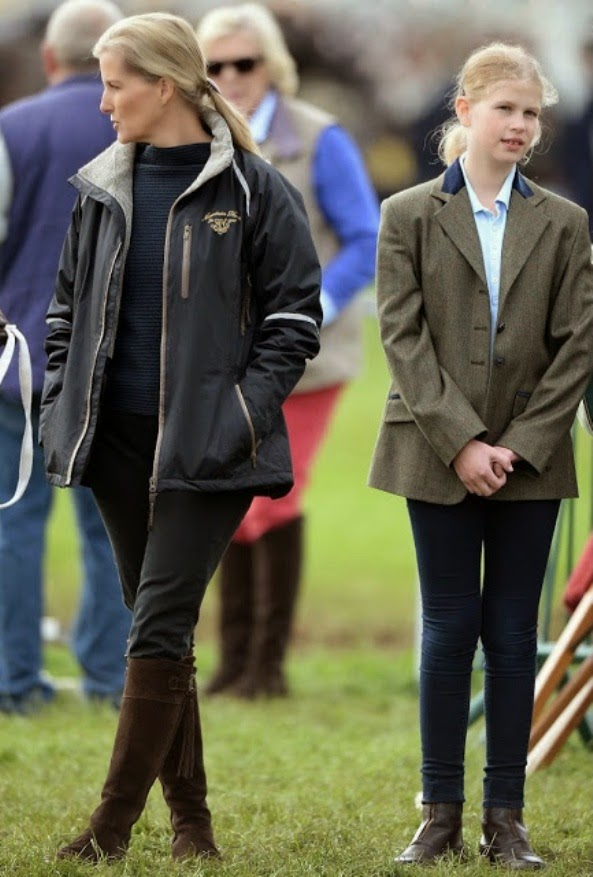 Countess Of Wessex And Lady Louise Windsor, Royal Windsor Horse Show