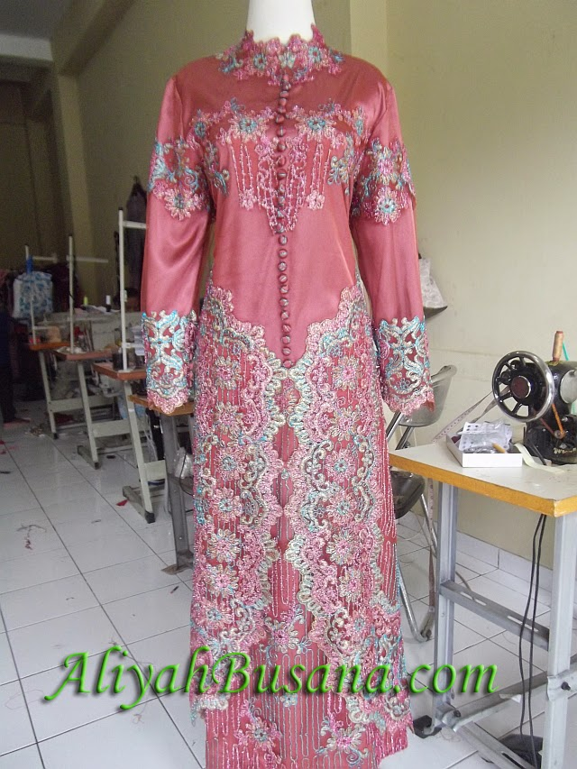 Pin Gamis Sifon Motif On Pinterest