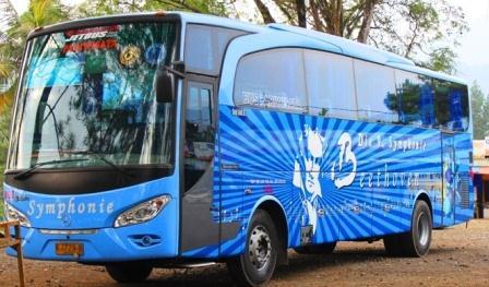 Bus Pariwisata Murah Symphonie