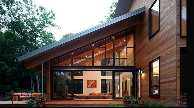 Fotos de techos modelos de techos de madera - Techos con vigas de madera ...