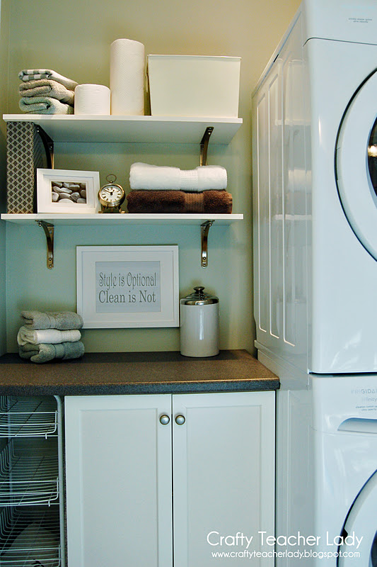 Crafty Teacher Lady: Laundry Room Makeover