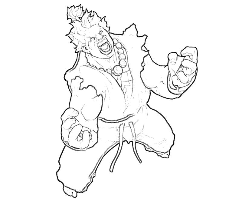 capcom coloring pages - photo#5