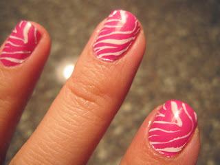 saranje noktiju - animal print nokti 010
