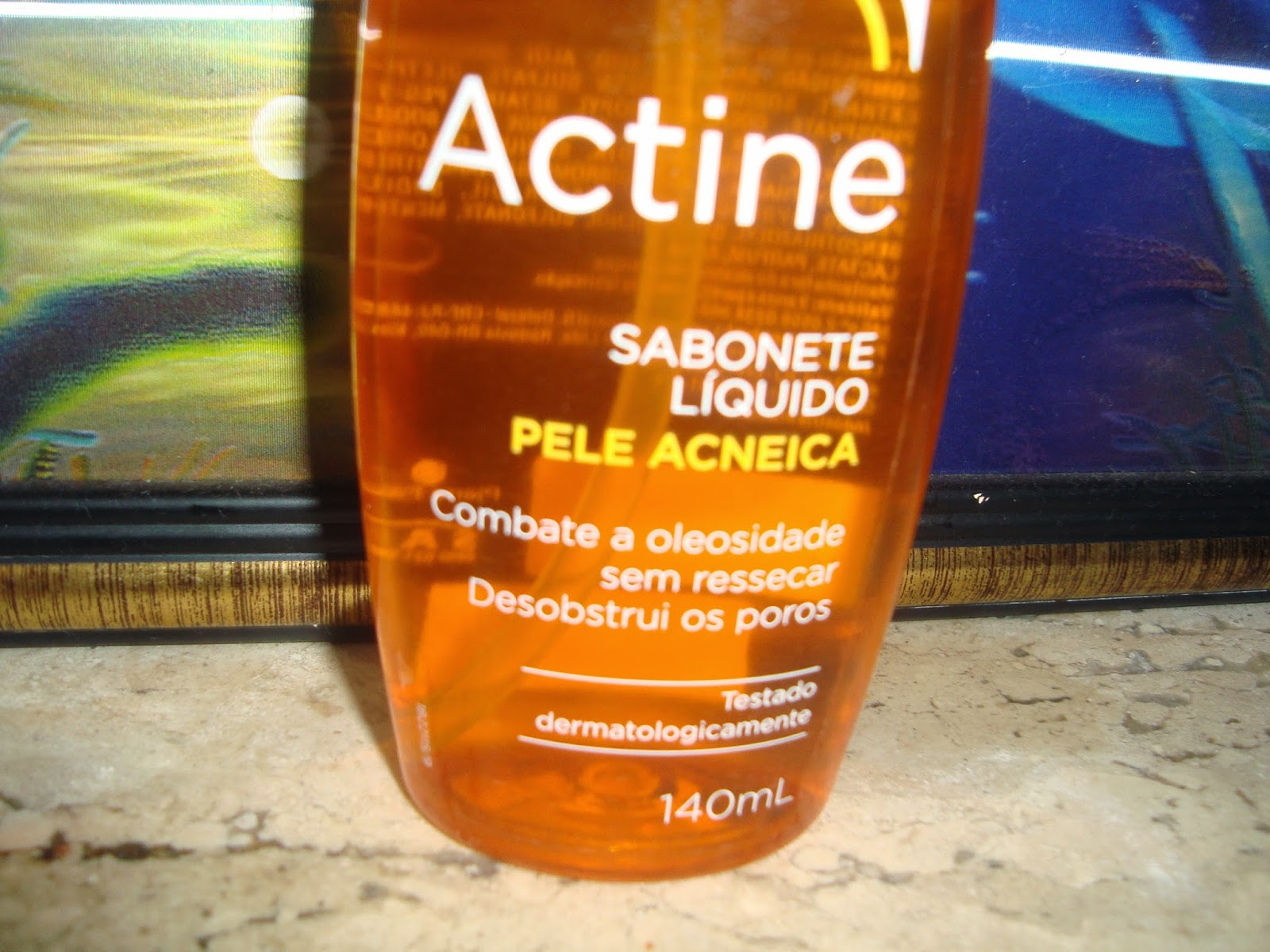 Sabonete liquido Actine
