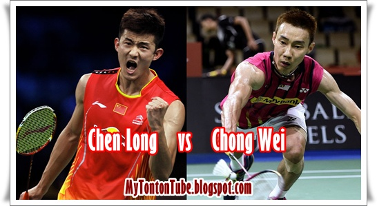 LIVE - Final Lee Chong Wei Vs Chen Long - Badminton Terbuka China 2015