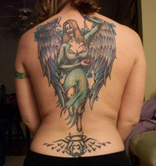 Back Tattoos For Female