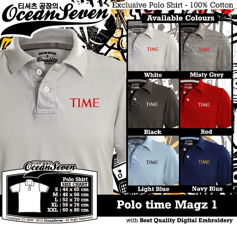 Kaos Polo time Magz 1