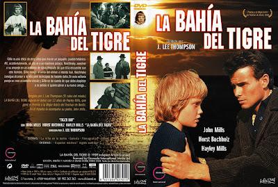 La bahía del tigre | 1959 | Tiger Bay | Carátula Dvd, Cover