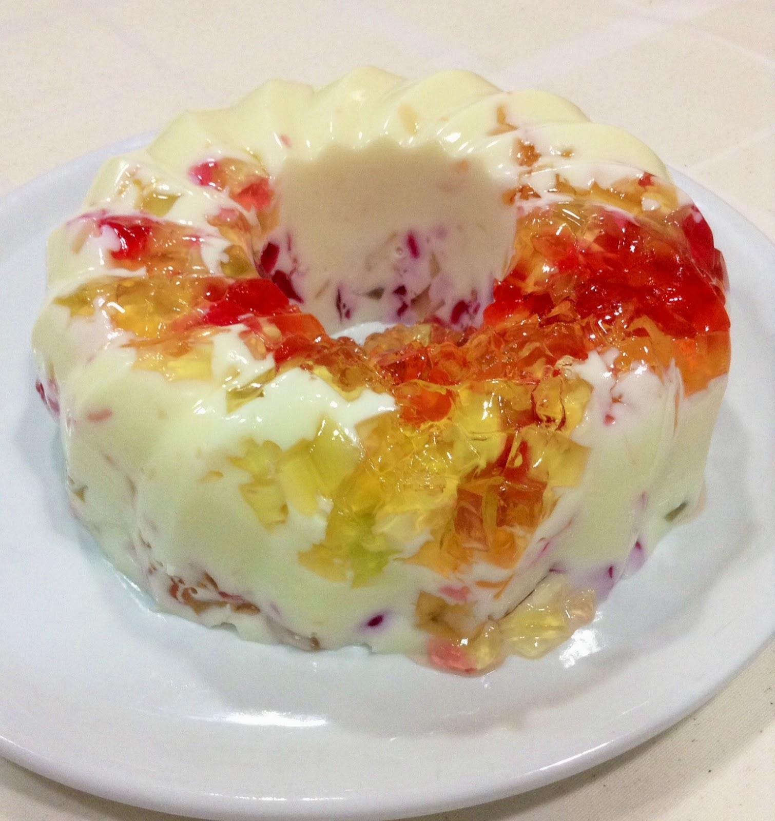 Sugar avenue gelatina de colores con leche condensada - Gelatina leche condensada ...