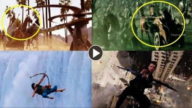Baahubali Movie Copy Scenes | Rajamouli | Prabhas | Rana Daggubati