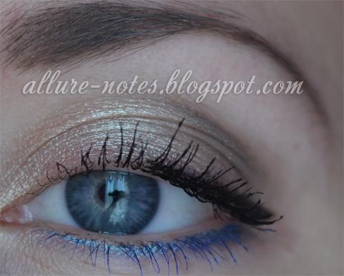 отзыв в блоге макияж для голубых глаз