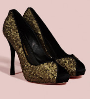 Jean-Michel Cazabat for Coast Matt Sequin Shoes
