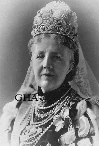 Reine Sophie de Suède, née princesse de Nassau-Weilburg 1836-1913
