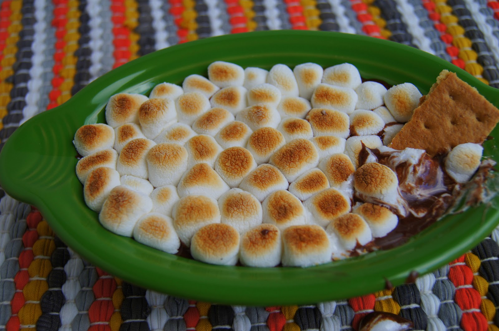 Elizabeths Dutch Oven Easy SMores Dip