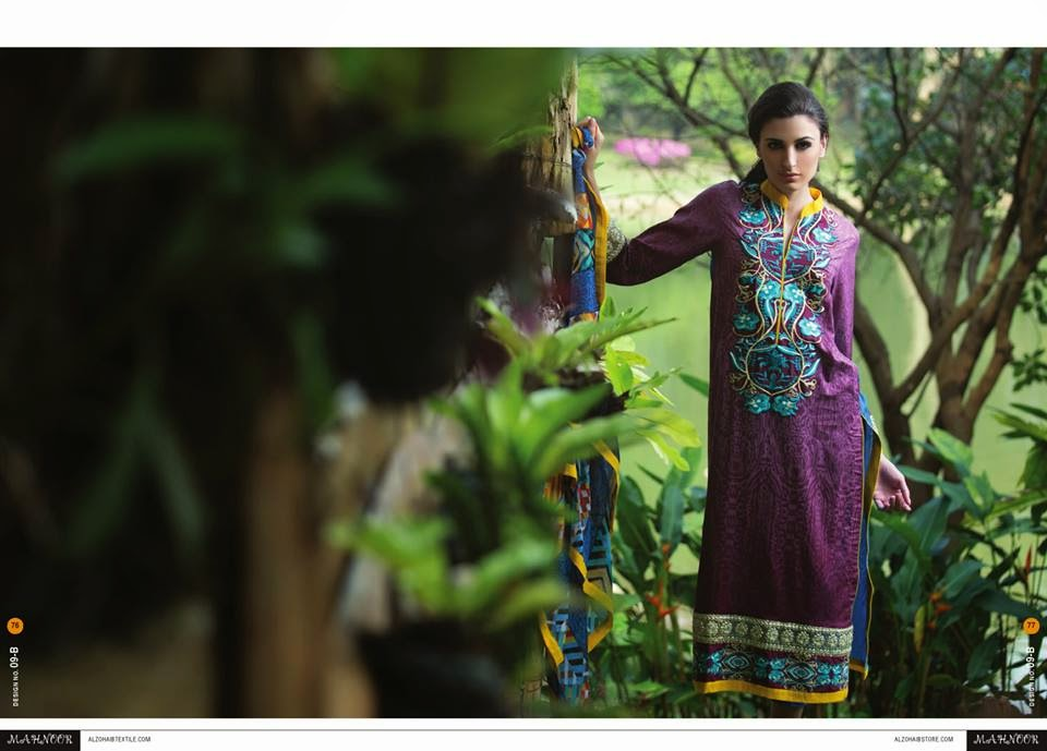 Mahnoor Spring Lawn Collection 2015