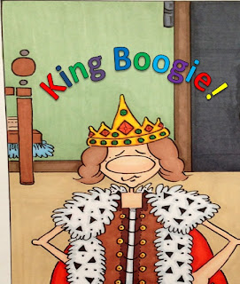 ~King Boogie~ by N.D. Byma
