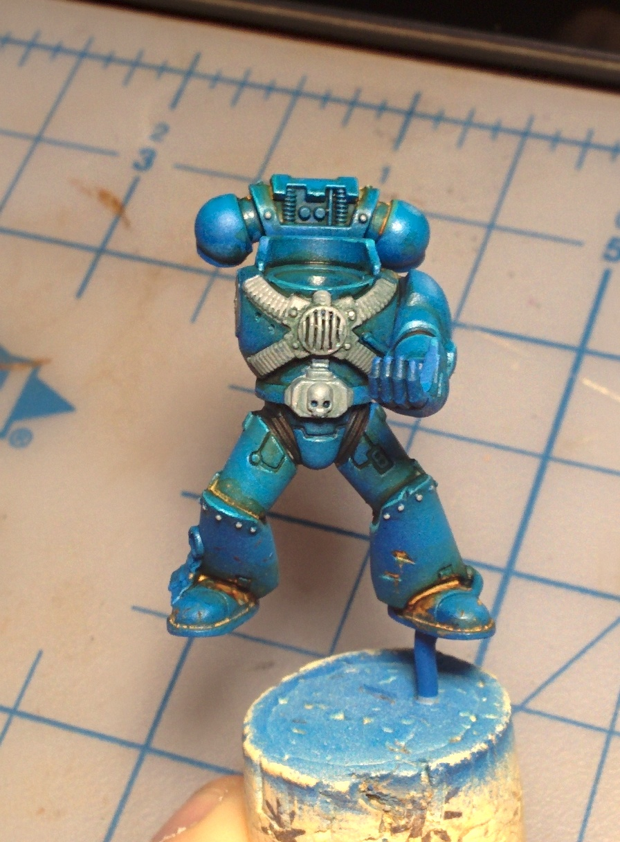 Test Paint Color Online The Hammer Of Wrath Wip Alpha Legion Color Test