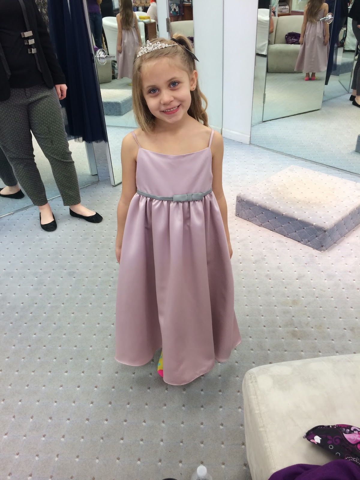 Doeblerghini Bunch:  Flower Girl Dresses - Pink Satin