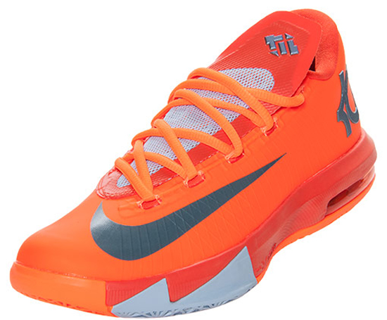 Known as the \u0026quot;NYC 66\u0026quot; edition, this Nike KD VI comes in a total orange, armory slate, team orange and armory blue colorway. They feature an orange based ...