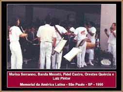Marisa Serranno, Banda Moxotó e Fidel Castro