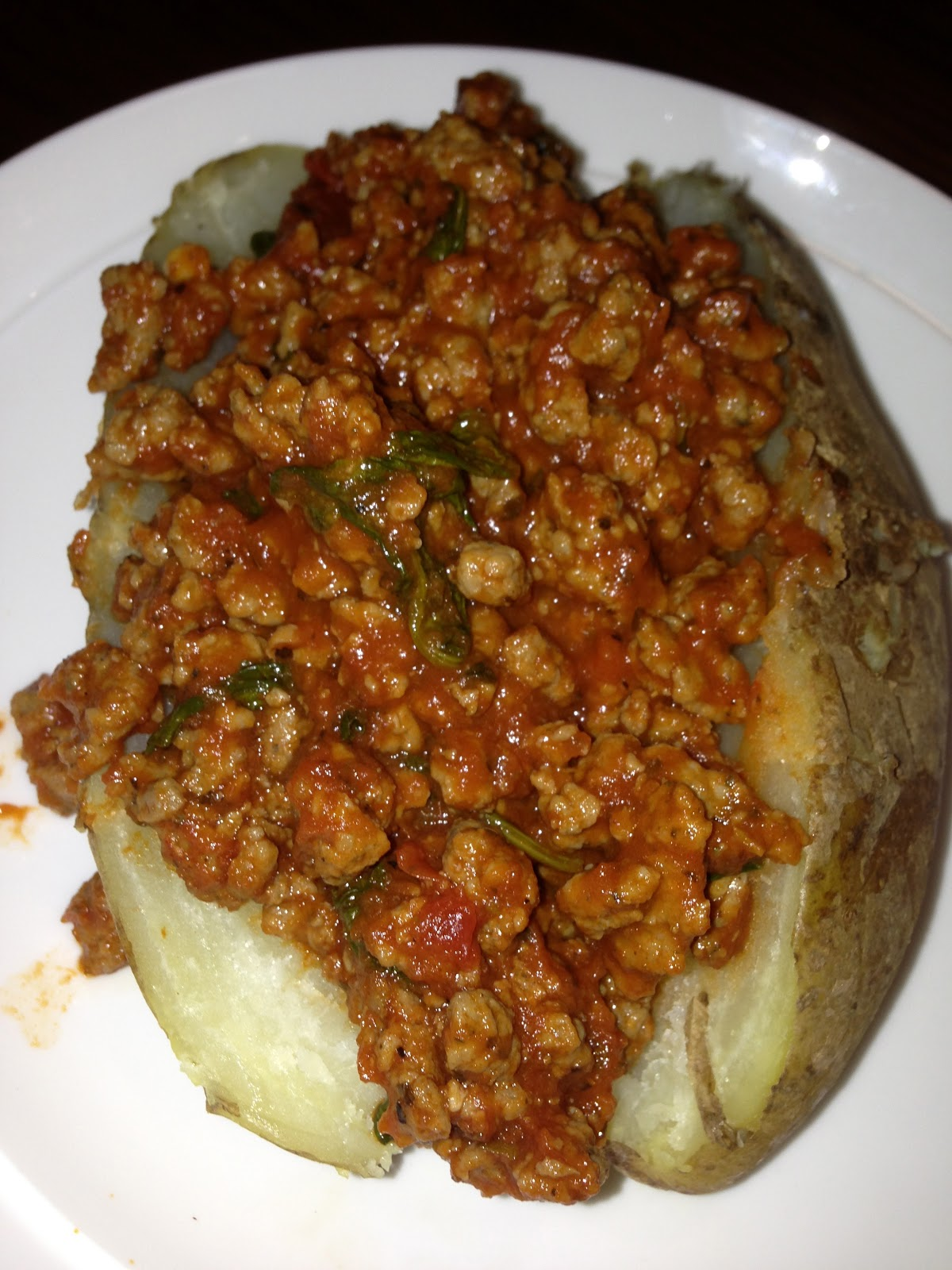 simply made with love: Baked Potatoes with Sausage and ...