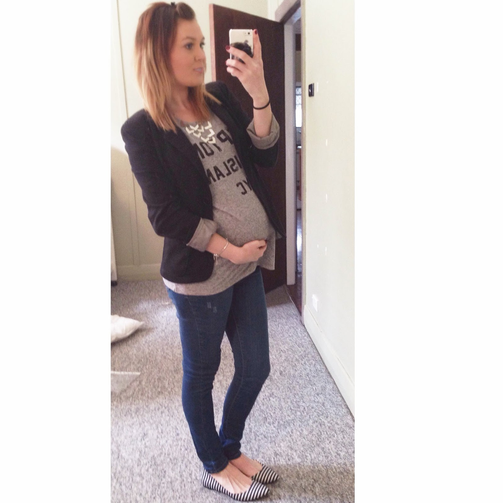 6 Tips for Beautiful and Affordable Maternity Style - by Laura