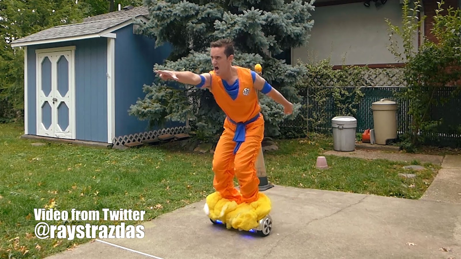 Dragon Ball Z Electric Scooter Nimbus Cosplay