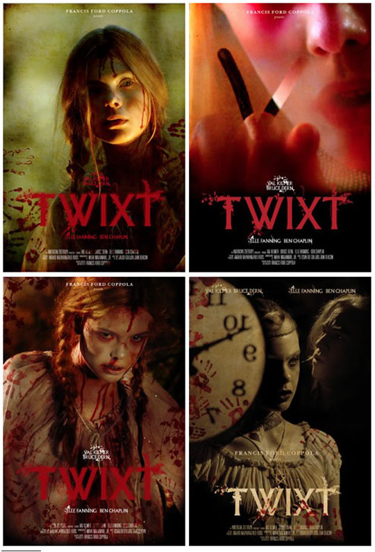 Four New Posters for Francis Ford Coppola's 'TWIXT ...