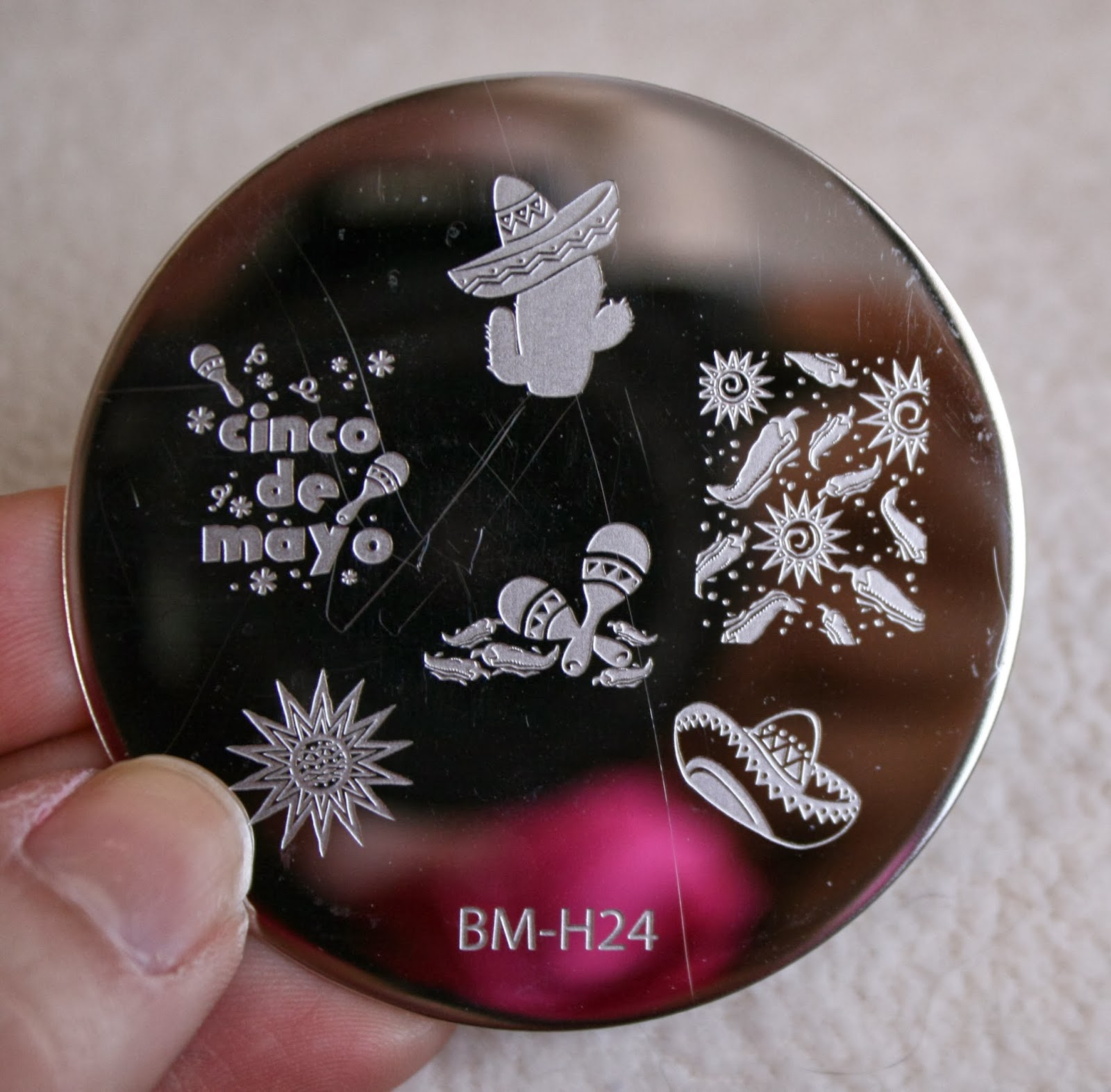bundle monster nail stamping plates set collection holiday 2013 nails art stamp konad bm-h24