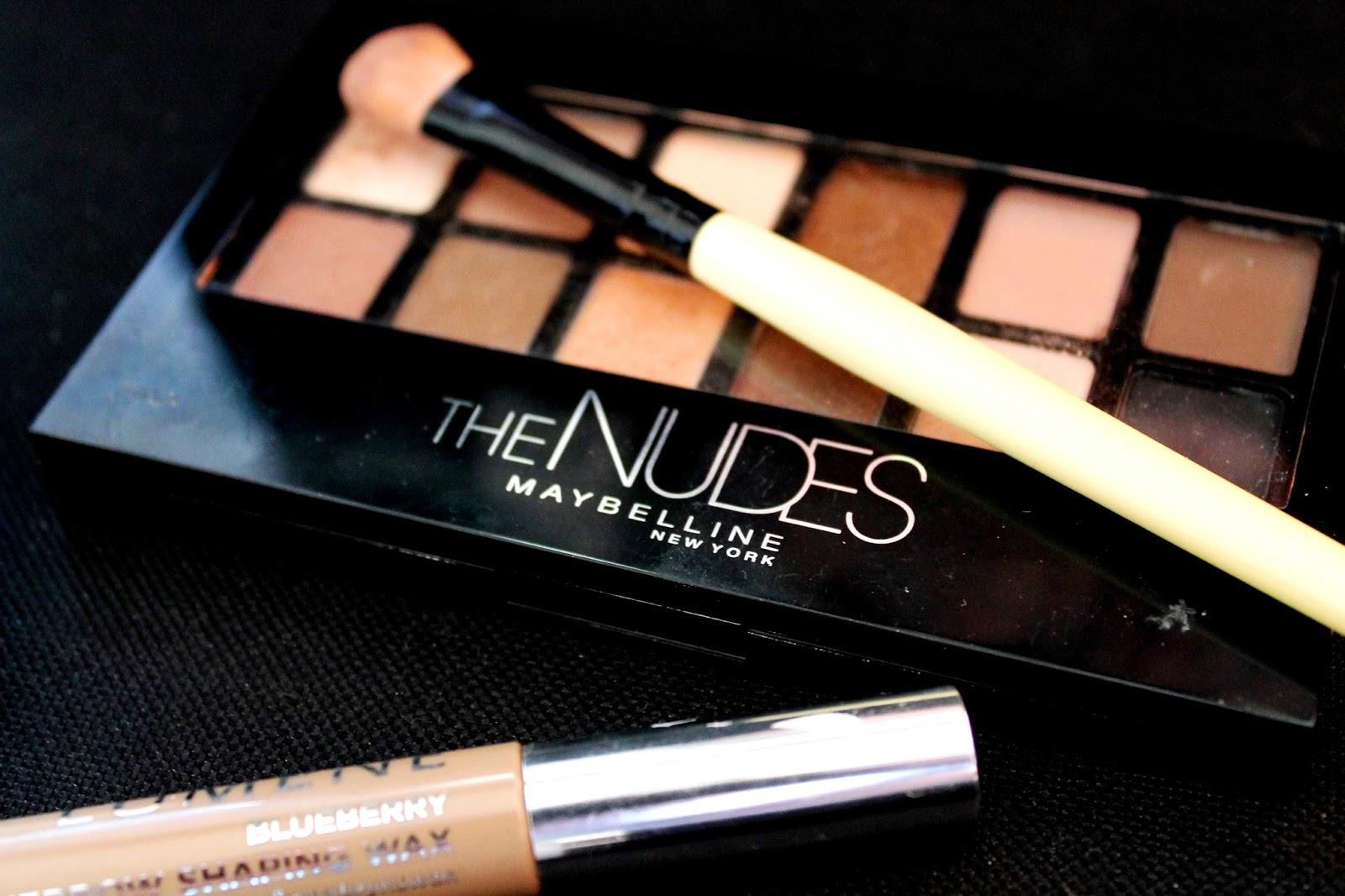 #eyeshadow #maybelline #thenudes #nude #nudes #lumene #cosmetics