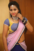 Neetha sizzling photo shoot in half saree-thumbnail-17